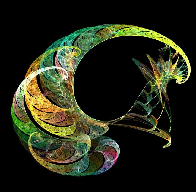 Спираль разноцветная